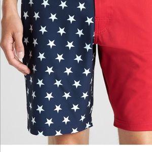 GAP Swim - NWT gap American flag swim shorts